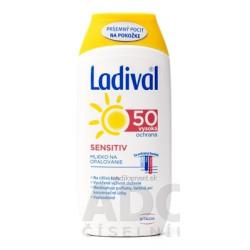 Ladival SENSITIV SPF 50 mlieko na opaľovanie 1x200 ml
