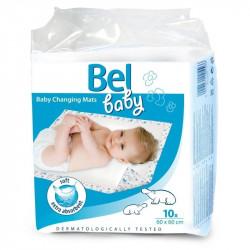 Bel Baby prebaľovacie podložky 60 x 60 cm 10 ks