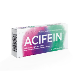 ACIFEIN tablety 10 ks