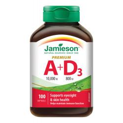 JAMIESON VITAMÍN A+D PREMIUM tablety 100 ks