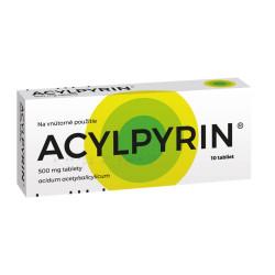 ACYLPYRIN 500 mg tablety 10 ks