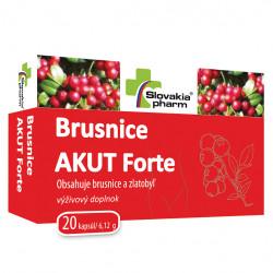 Slovakiapharm Brusnice AKUT Forte 20 kapsúl