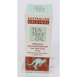 AUSTRALIAN ORIGINAL TEA TREE OIL 100% 1x10 ml
