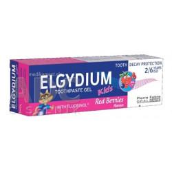 ELGYDIUM KIDS zubná pasta s fluorinolom s príchuťou lesného ovocia 50 ml