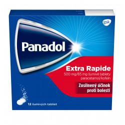 Panadol EXTRA RAPID šumivé teblety 12 ks