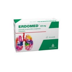 ERDOMED 225 mg prášok 20 vrecúšok