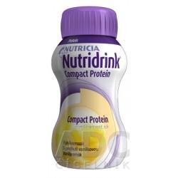 NUTRIDRINK COMPACT PROTEIN s vanilkovou príchuťou 24x125 ml