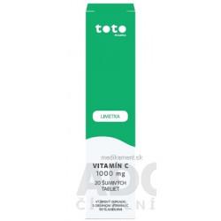 Revital vitamín C 1000 mg s príchuťou limetky a grepu 20 ks