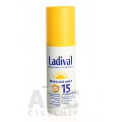Ladival ALLERG SPF 15 sprej na ochranu kože pred slnkom 1x150 ml