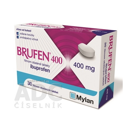 BRUFEN 400 tbl flm 400 mg (blis.PVC/Al) 1x30 ks