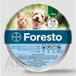 Foresto obojok pre mačky a psy do 8 kg 1x1 ks