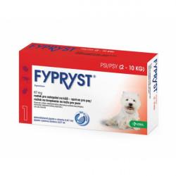 FYPRYST PSY 67 mg 2-10 KG roztok na kvapkanie na kožu 1 x 0,67 ml