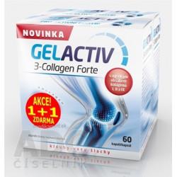 GELACTIV 3-Collagen Forte Akcia 1+1 cps 60+60 zadarmo