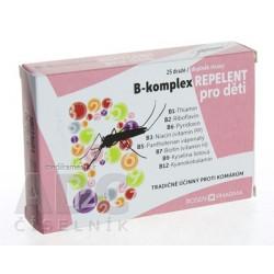 B - komplex REPELENT pre deti - RosenPharma tbl (dražé) 1x25 ks