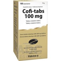 Vitabalans Cofi-tabs tbl 1x100 ks