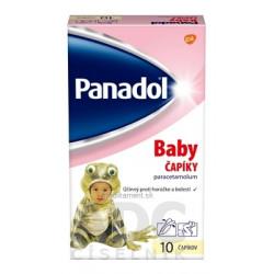 Panadol BABY čapíky 125 mg 10 ks