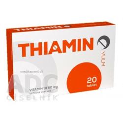 VULM THIAMIN tbl (vitamín B1 50 mg) 1x20 ks