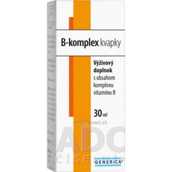 GENERICA B-komplex kvapky 1x30 ml