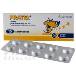 PRATEL tablety 10 ks