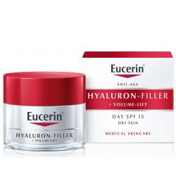 Eucerin HYALURON-FILLER+Volume-Lift denný krém pre suchú pleť 50 ml