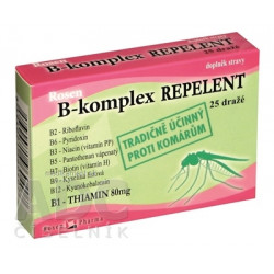 B - komplex REPELENT - RosenPharma tbl (dražé) 1x25 ks