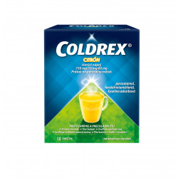 COLDREX Horúci nápoj citrón 5 g 10 ks