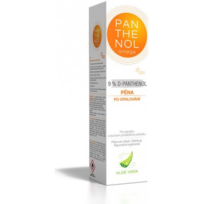 omega PANTHENOL 10% ĽADOVÝ EFEKT pena v spreji 150 ml 4,30€
