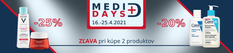MediDays zľavy